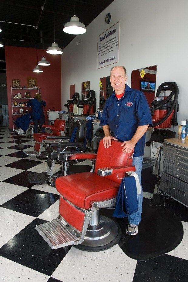 Man Cave Barber Hamilton : C p barbershop caters to men