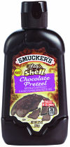 Smucker's Magic Shell Chocolate Pretzel Flavored Topping