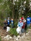Kiwanis Park clean up day