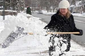 Parts of region get up to 8 inches of snow; more expected Friday
