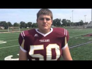 Jackson Heard, Chesterton football