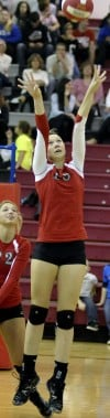 T.F. South girls volleyball team makes quick work of Bremen