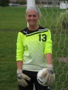 Boone Grove goalie Rachel Gerhardt