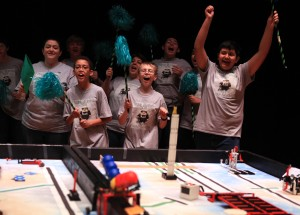 Teamwork pays off for 13 area middle schools competing in Lego competition in Hammond