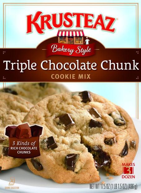 Krusteaz's Triple Chocolate Chunk Cookie Mix | Home and ...