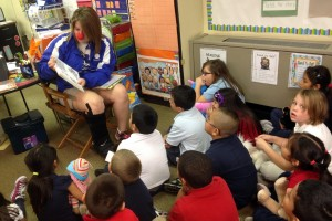 Clark High School students mentor elementary schools as part of 'Timeout for Reading'