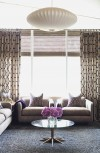 Less is more in window treatments