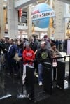 Opening day of the 2012 Chicago Auto Show