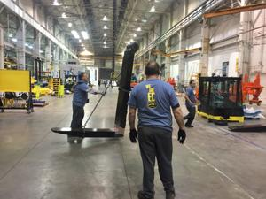Hoist Liftruck launches new products that will be made in East Chicago