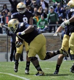 Notre Dame defense dominates in spring game