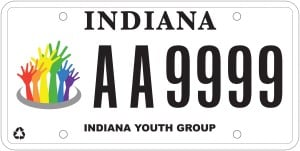 Judge orders gay youth plates reinstated