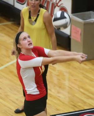 Niners sweep Red Devils despite lull