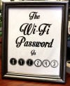 Wifi Password Frame