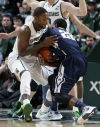 College basketball roundup: Michigan State wins with altered starting lineup