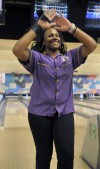T.F. North bowler Myeisha Fleming