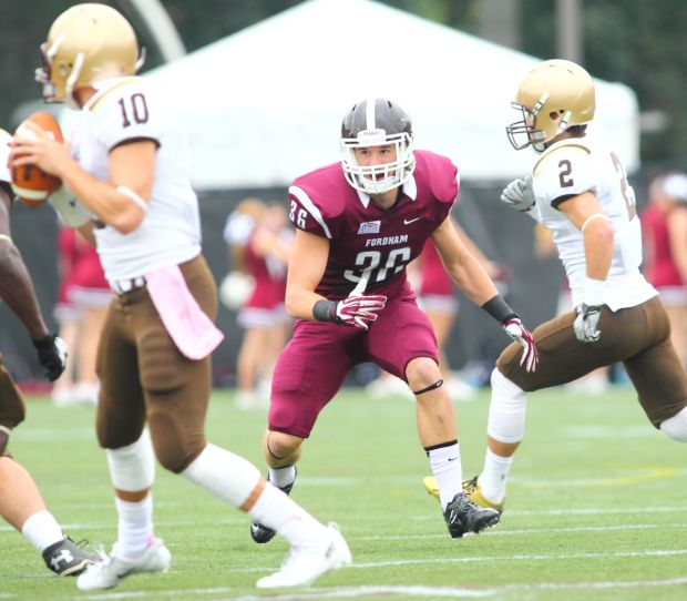 JIM PETERS: Portage grad Dixon helping Fordham football make history