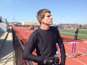 Hobart's Petroskey saves his best for last in distance running