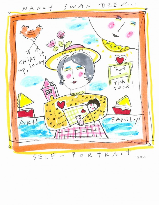 2011-05-22T00:00:00Z 2011-05-19T15:24:19Z Artist Nancy Swan Drew draws from ...