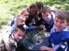 St. Mary Students study living things
