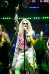 "Actor Matt Nolan as Stacee Jaxx in the Broadway Musical Tour of ""Rock of Ages"""