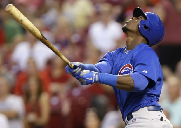 Soler homers in first MLB at-bat