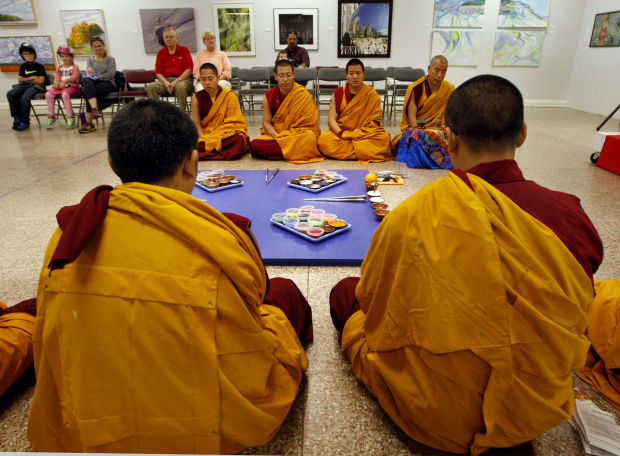 The art of meditation: Monks visit region, share their culture