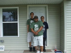 Habitat announces first Veterans Build family