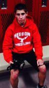 Jordan Giacomin, Hebron wrestling