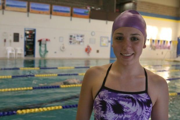 Wieser Making Waves For Marian Catholic Girls Swim Team Swimming