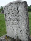 Albert Kale's old headstone