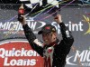 Biffle holds on to win again at Michigan