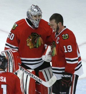 LA Kings stumble home to host surging Blackhawks