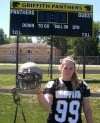 Griffith, Munster varsity football players accept their female teammates