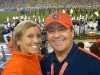 Kelly Komara at BCS national championship game