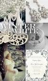 Inspiration Board Winter White