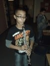 Myers Elementary fifth graders tryout instruments