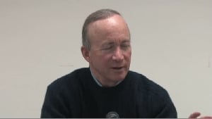Indiana Gov. Mitch Daniels talks about the presidency