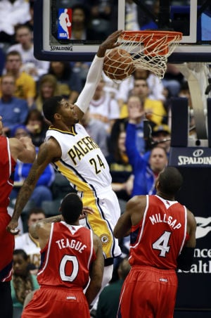 George scores 26 to lead Pacers past Hawks