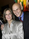 Political strategists James Carville and wife Mary Matalin in 2007