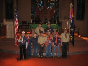 East Side Scouts honor veterans