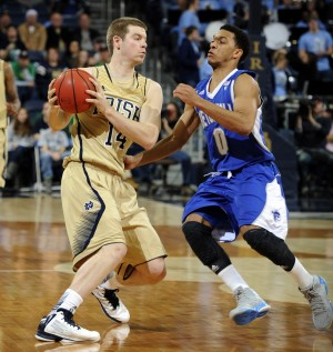Martin's 3-pointers lead No. 21 Irish to win