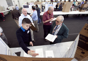 Kids present projects at science fair