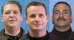 3 indicted officers face judge