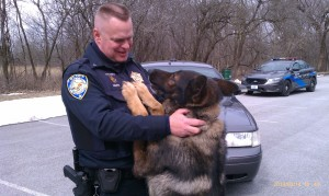 Thornton canine officer receives vest through donations