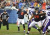 Bears quarterback Jay Cutler throws a pass during the second half of Sunday's game against Minnesota.