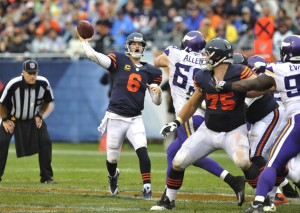 Bears still searching for an identity after sneaking past the Vikings 31-30