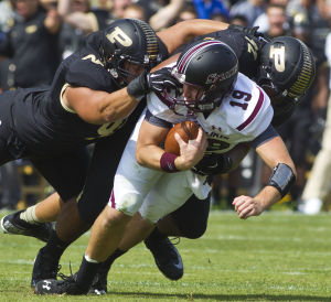 Boilers beat error-prone Salukis