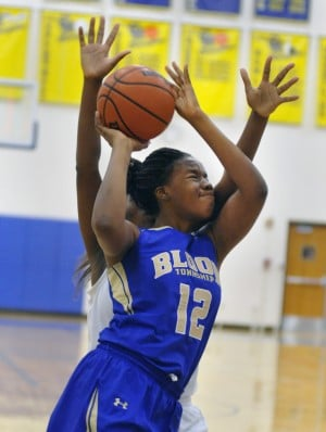 Bloom's Bria Gaines a team-first player; senior passes 1,500 point and 800 rebound mark