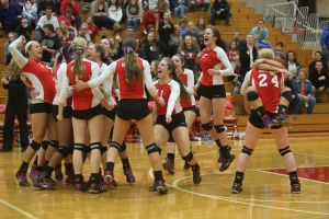 Munster wins volleyball regional in four games over Crown Point