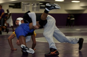 Merrillville's Garcia in pursuit of a state wrestling championship